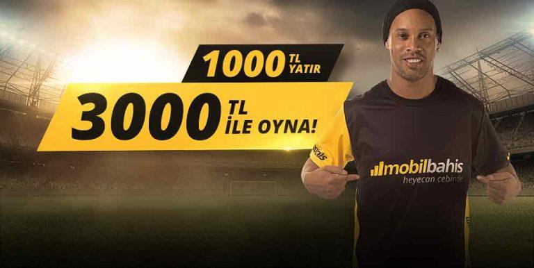 3000 TL Bonus