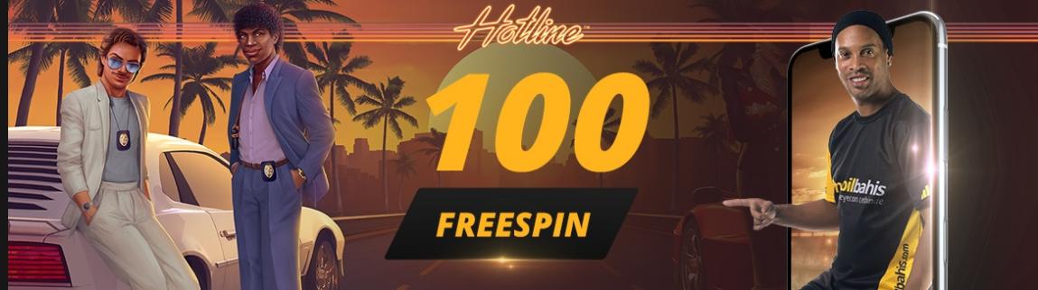Ronaldinho'dan 100 Freespin